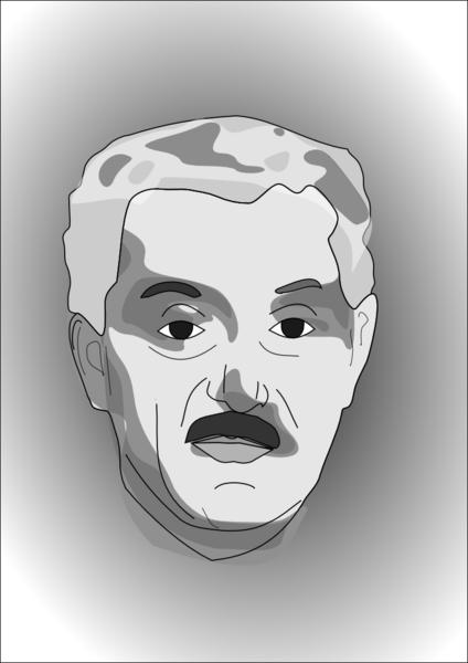 Portrait de Tenguiz Sigoua, ex-Premier Ministre Géorgien