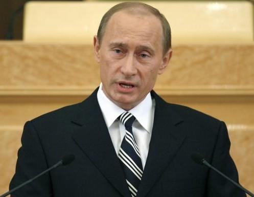 Vladimir Poutine en conférence de presse