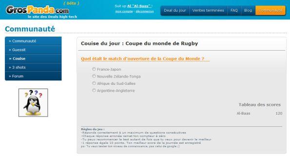 Quizz sur la Coupe de Monde de rugby 2011: Viens battre Al Baas